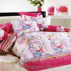 Sprei Hello Kitty Peri uk.180 t.20cm