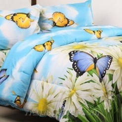 Bed Cover Set STAR Butterfly Garden uk.160 t.25cm