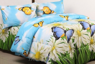 Bed Cover Set STAR Butterfly Garden uk.160 t