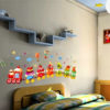 Wall Sticker Cupcake Train uk.70x50