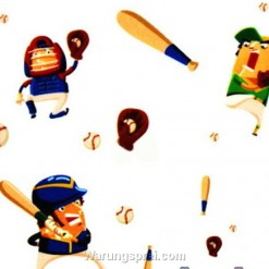 Wall Sticker Fun Baseball uk.70x50
