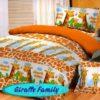 Sprei STAR Giraffe Family Orange uk.100 t.20cm