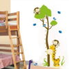 Wall Sticker HM Tree Monkey uk.90x60