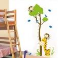 Wall Sticker HM Tree Monkey uk.90x60