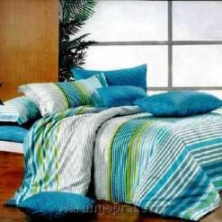 Bed Cover Set Indigo Salur uk.200 t.25cm
