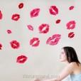 Wall Sticker Kiss uk.70x50