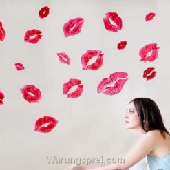 Wall Sticker Kiss uk.70x50