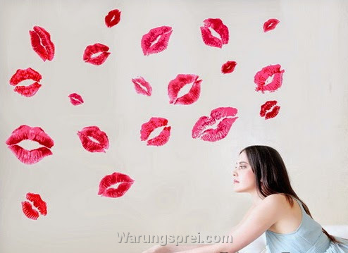 Wall Sticker Kiss uk