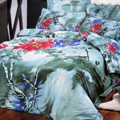 Bed Cover Set Hijau Tua uk.180 t.25cm