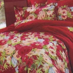 Bed Cover Set Isadora Merah uk.160 t.25cm
