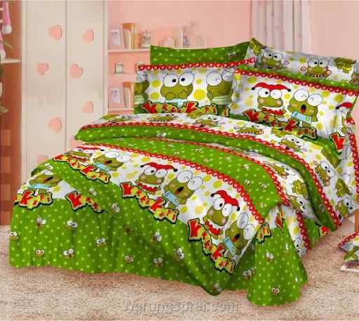 Bed Cover Set Keroppi Kado uk.180 t