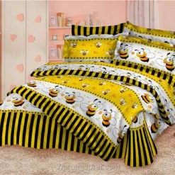 Bed Cover Set Lebah Kuning uk.200 t.25cm