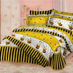 Bed Cover Set Lebah Kuning uk.200 t.25cm