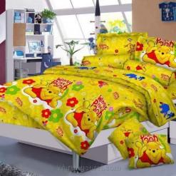 Sprei Pooh Smile uk.120 t.25cm