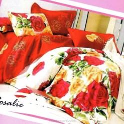 Sprei STAR Rosalie Merah uk.120 t.25cm
