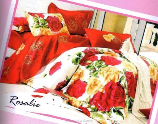 Sprei STAR Rosalie Merah uk.160 t.25cm