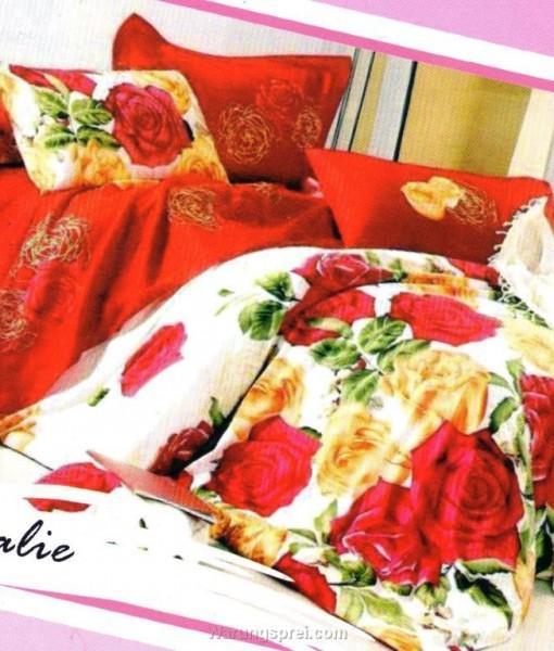Sprei STAR Rosalie Merah uk.160 t