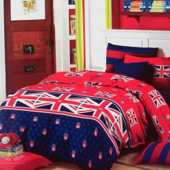 Sprei STAR Union Jack uk.120 t.20cm
