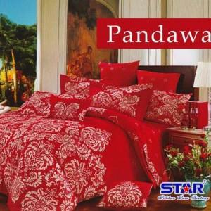 Sprei STAR Pandawa Merah uk.180 t.20cm