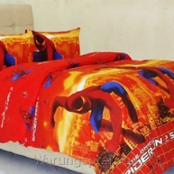 Sprei Panca Spiderman Orange
