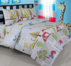 Sprei Panca Animal Tetris