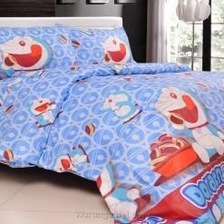 Sprei Panca Doraemon Dorayaki Biru