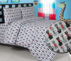 Sprei Panca Mr Cat
