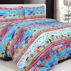 Sprei Panca Turbo Cars