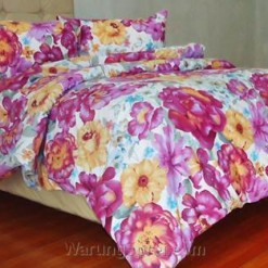 Sprei Panca Beauty Rose Ungu