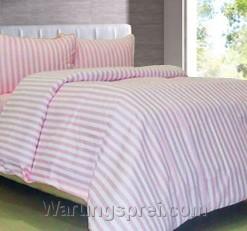 Sprei Panca Esprit Garis Pink