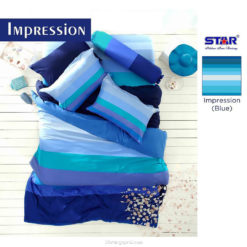 Sprei Panca STAR Impression Blue