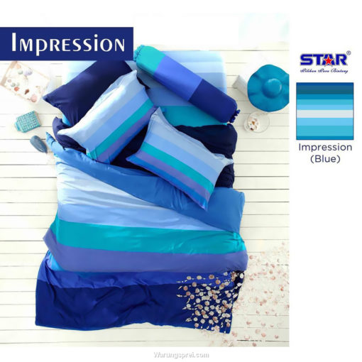 Sprei Panca STAR Impression Blue 1
