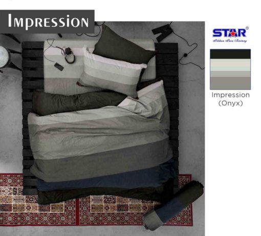 Sprei Panca STAR Impression Grey 1