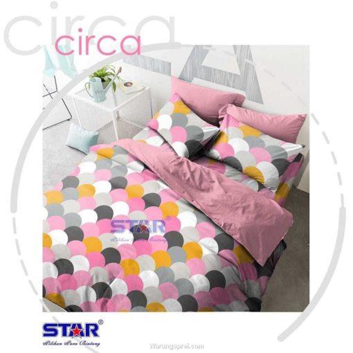 Sprei Panca STAR Circa Pink