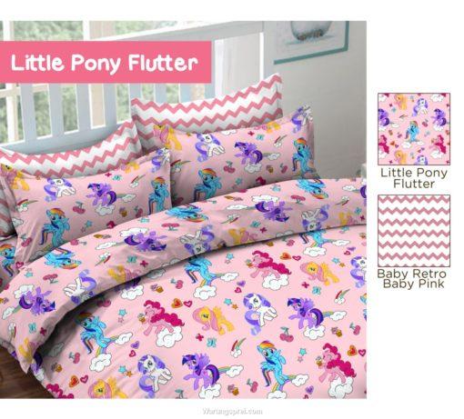 Sprei Panca STAR Little Pony Flutter 1