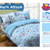 Sprei Panca STAR Shark Attack