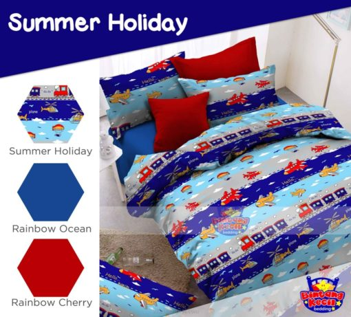 Sprei Panca STAR Summer Holiday 1