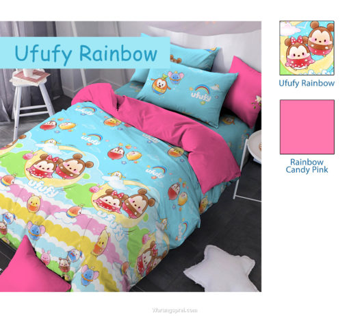 Sprei Panca STAR Ufify Rainbow 1