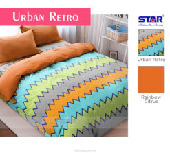 Sprei Panca STAR Urban Retro