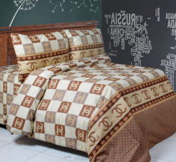 Sprei Panca Chanel Square