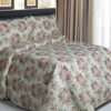 Sprei Panca Sweet Flower Cream