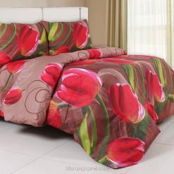 Sprei Panca Hope Tulip Merah