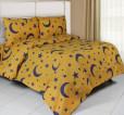 Sprei Panca New Starry Night Yellow