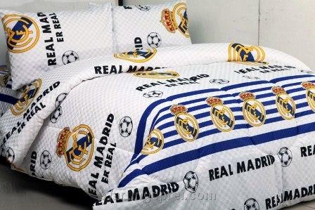 Sprei Panca Real Madrid Putih 1