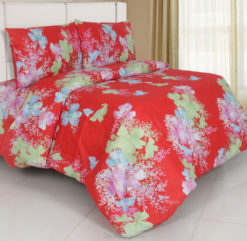 Sprei Panca Crystal Blue Red