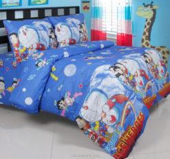 Sprei Panca Doraemon Space Hero On