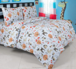 Sprei Panca Forest Animals Biru