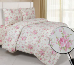 Sprei Panca Moonflower Cream