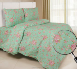 Sprei Panca Moonflower Hijau
