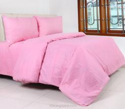 Sprei Panca Polos Pink Muda